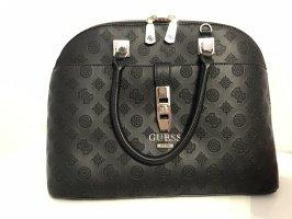 Guess Handbag black-silver-colored