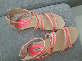Guess Outdoor sandalen beige-neonroos