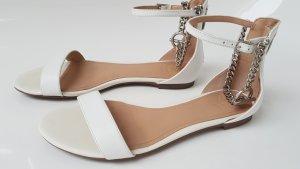 Guess Sandalo con cinturino e tacco alto bianco