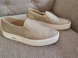 Guess Zapatos sin cordones blanco-color oro