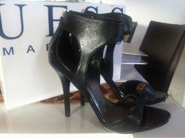 Guess Schuhe High Heels Neu schwarz Gr 37,5 38 Leder