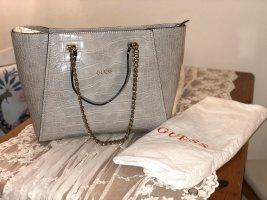 Guess Shopper silver-colored-grey