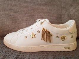 Guess, Sneaker, Weiß, Gold! Neu!