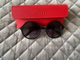Guess Gafas de sol redondas negro-color oro