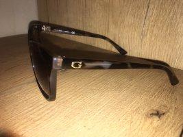 Guess Gafas mariposa marrón oscuro-color oro
