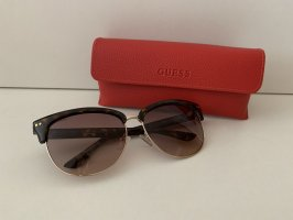 Guess Gafas mariposa marrón-negro-color oro