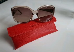 Guess Angular Shaped Sunglasses silver-colored-brown