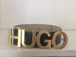 HUGO Hugo Boss Lederen riem zwart