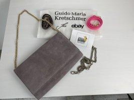 Guido Maria Kretschmer Borsa clutch viola-grigio Pelle