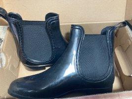 glamours Gumowe buty czarny