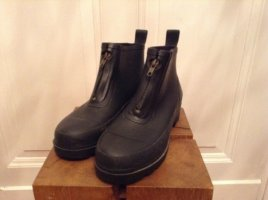 Romika Wellies black synthetic material