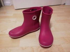 Crocs Botas de agua blanco-rosa