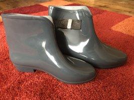 Gummistiefel ,Schuhe , Silber ,Grau, Gr:38