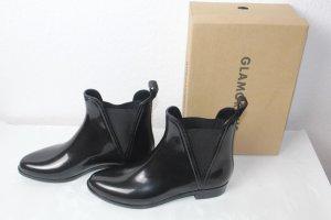 Glamorous Botte en caoutchouc noir