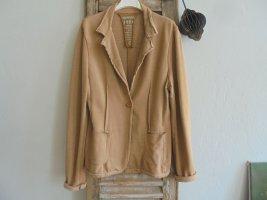 gwynedds Sweat Blazer light brown mixture fibre