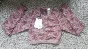 GYMSHARK Camisa deportiva lila grisáceo-malva