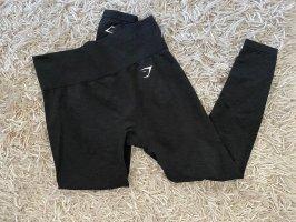 GYMSHARK Pantalon de sport noir-gris foncé
