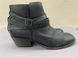 H by Hudson Ankle Boots Vintage Leder Gr.40