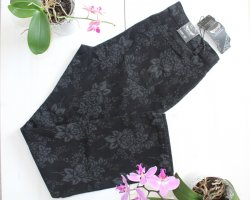 H&D Collection Jeans stretch noir-gris clair coton