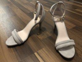 H&M Tacones altos gris claro