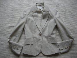 H&M anzug business creme sommer gr. 36 s neu blazer und hose
