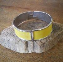H&M Mouwband zilver-geel Metaal