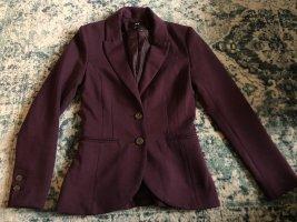 H&M Blazer, Bordeaux Rot