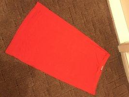 Balmain for H&M Pencil Skirt red spandex