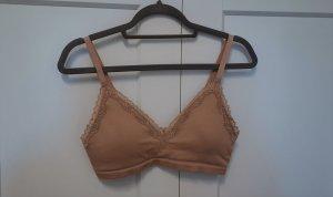 H&M Bralette Bustier nude beige Gr. 44