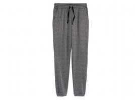 H&M Divided Party Edeljogger Jogger Jogginghose Sweatpants silber grau Gr. 40 42 L XL