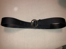 H&M Leather Belt black