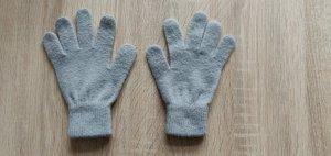 H&M Guantes con dedos gris claro-gris
