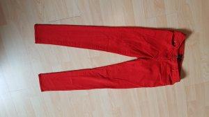 H&M Hose rot Röhre Größe 34