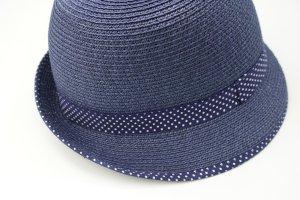H&M Chapeau bleu matériaux recyclés