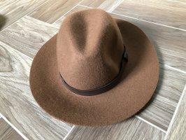 H&M Felt Hat brown-bronze-colored