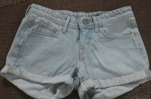 H&M Jeans Hotpants skinny low waist Gr.34