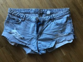 H&M Jeansshorts 42 XL neu blau