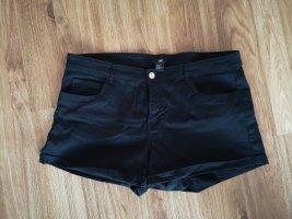 HM Pantaloncino di jeans nero