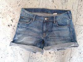 H&M Jeansshorts kurze Hose S 36 blau Jeans Shorts Hotpants