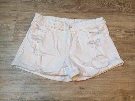 H&M Jeansshorts shirts regular waist 38 weiß