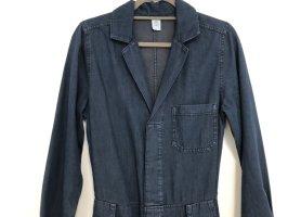 H&M Jumpsuit, Gr. S, dunkelblau, ungetragen