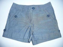 H&M kurze Sommer Short blau Gr 36/6