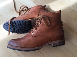 H&M Ankle Boots brown leather