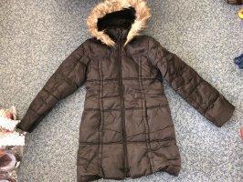 H&M Quilted Coat black