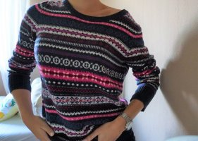 H&M L.O.G.G. Norwegian Sweater multicolored cotton