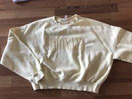 H&M°Oversized Sweatshirt°gelb°Größe M °38°gepflegter Zustand