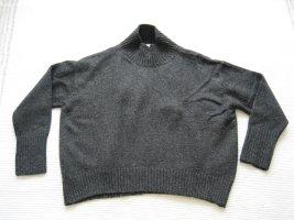 H&M pulli oversize gr. s 36 grau neu
