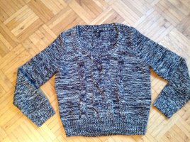 H&M Pullover Salt'n'Pepper Wolle Strick Zopfmuster