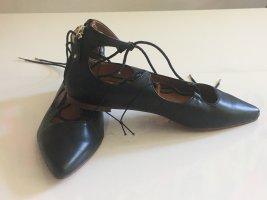 H&M Ballerina's met bandjes zwart