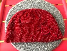 H&M Chapeau en laine rouge